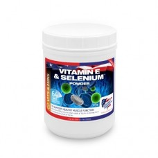 Подкормка для лошади для мышц с селеном Vitamin E & Selenium Powder, Equine America