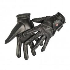 Перчатки для конного спорта кожаные Professional Leather, HKM