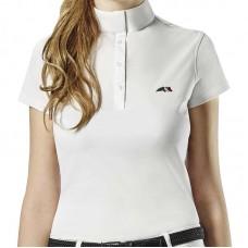 Рубашка для верховой езды турнирная женская с коротким рукавом Isabel, Equiline