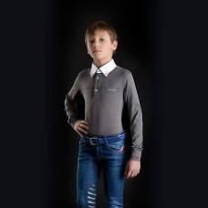 Бриджи детские джинсовые для верховой езды с коленной леей Mar W16, Animo