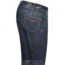 Бриджи женские джинсовые для верховой езды с коленной леей Nijo, Animo
