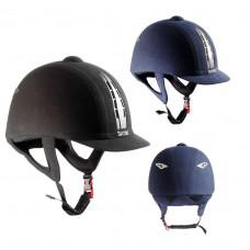 Шлем для конного спорта с отделкой под замшу, Tattini
