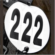 Наборной номер для лошади турнирный, Waldhausen